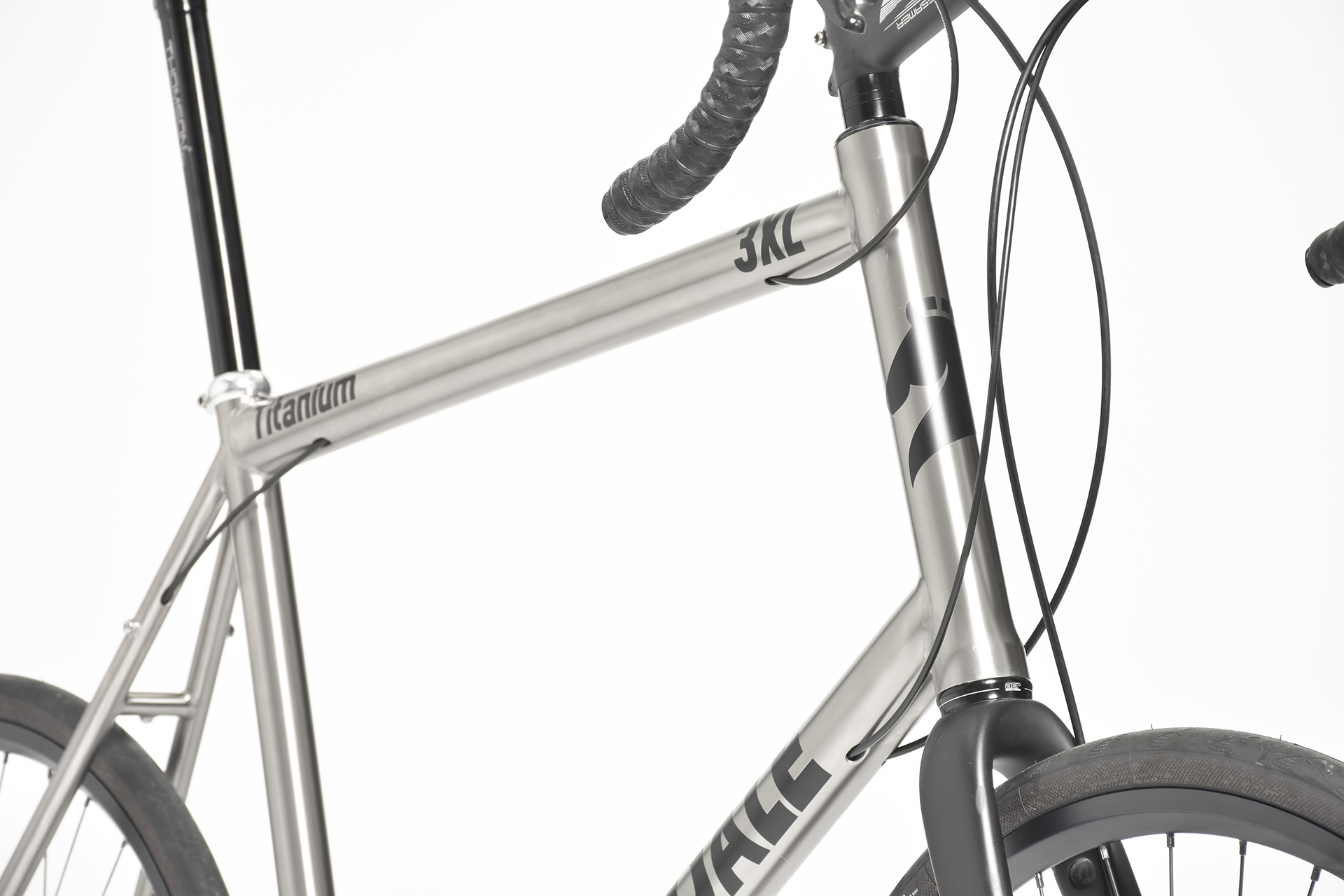 titanium bicycle for big and tall